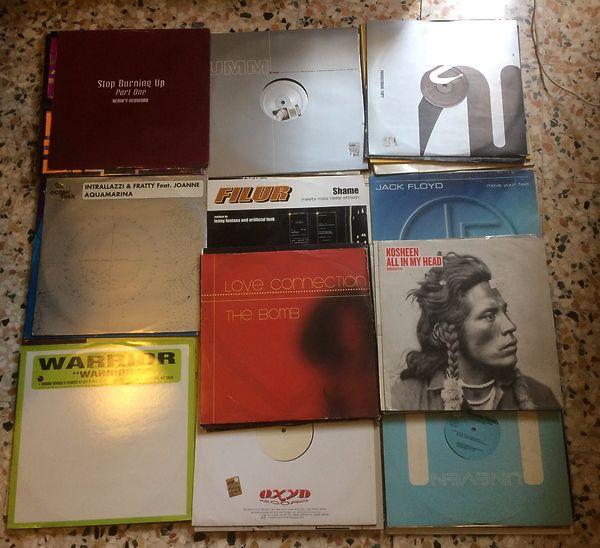 120 dischi mix House/Dance/Techno