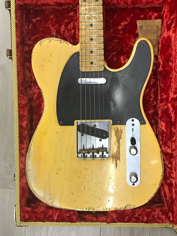 Fender 53 telecaster heavy relic
