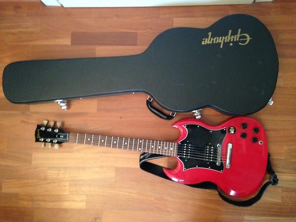 Gibson Sg Special 1997 Ferrari Red