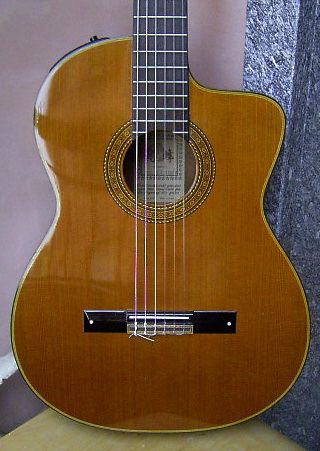 TAKAMINE CP 132 SC - vintage ' 93 - japan  -   PERMUTO GIBSON