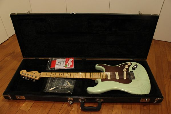 Fender stratocaster american rustic ash
