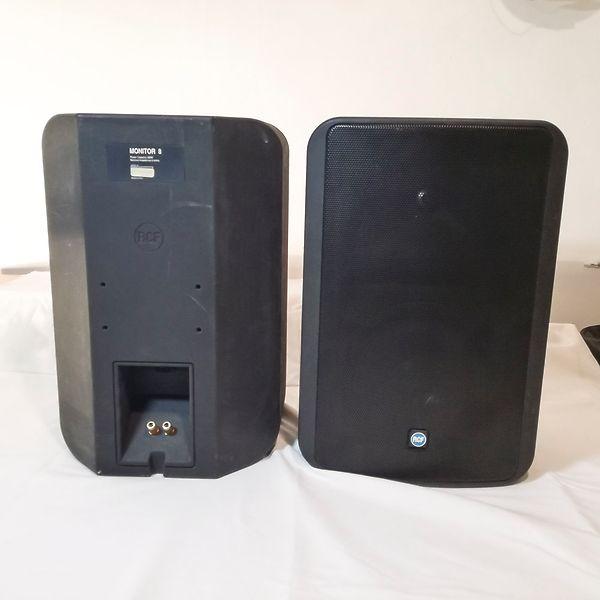 RCF Casse Monitor 8 la coppia