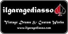 IL GARAGE DI ASSO - Vintage Drums & Custom Works