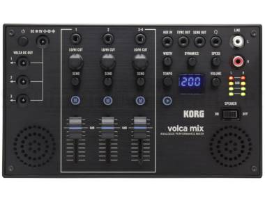 Korg Volca Mix B-stock - Mixer Analogico 4 Canali Con Speaker Integrati
