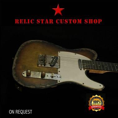 RELIC STAR CUSTOM SHOP t-'50 alnico 5 Sunburst Telecaster