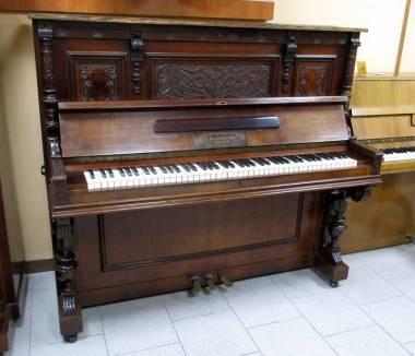 J. Gerstenberger pianoforte acustico verticale - consigliato per arredamento