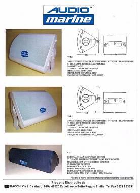 Audiomarine 4.2 - 6.2 - 8.2 two way