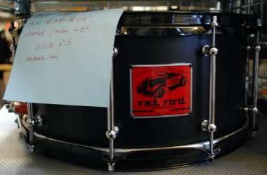 PDP Pacific Drums by DW Sx Rat Rod acero 14x6,5
