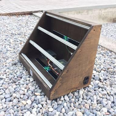 9U EURORACK CASE ALIMENTATO (o non), 84 o 104 hp, synth sintetizzatore modulare