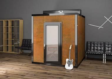 TOPBOX box insonorizzato cabina acustica 200x150