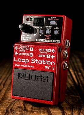 Boss RC-3 LOOPER USB tre ore di registrazione stereo