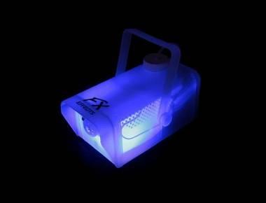 MACCHINA DEL FUMO FX FOG MINI 400W TRASPARENTE CON LED