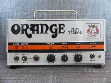 Orange TINY TERROR - TESTATA