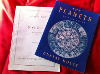 Holst the planets Luciano Berio Nones Partiture