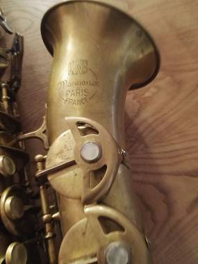 Sax contralto Sml king Marigaux gold medal II