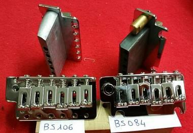 Sellette  Gotoh Stratocaster / Telecaster / molle tremolo