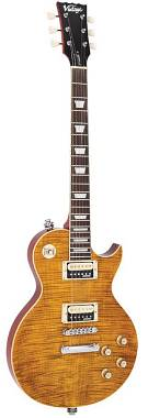 VINTAGE V100AFD LES PAUL PARADISE FLAME MAPLE