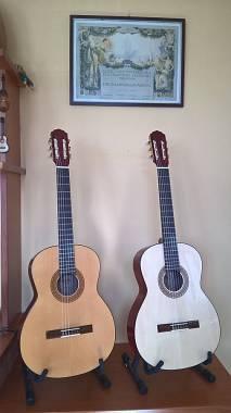 Chitarra classica artigianale modello Manola
