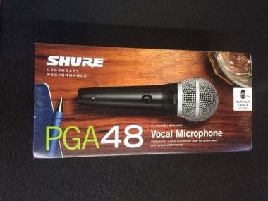 Shure PGA 48 Microfono Dinamico Cardioide