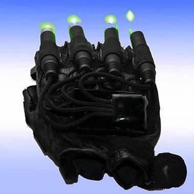 Guanti LASER per Cyborg Man con diodi da 1W verdi