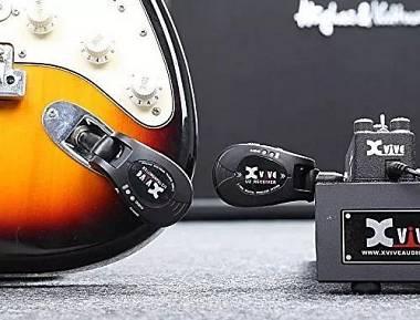 XVive U2 BLACK sistema wireless audio per chitarra e basso