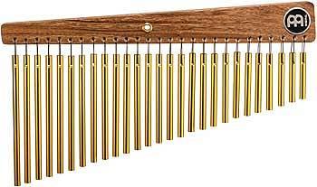CHIMES (TUBULAR BELLS) PROFESSIONALI MEINL GOLD 27 BARRE + SUPPORTO OMAGGIO!!!