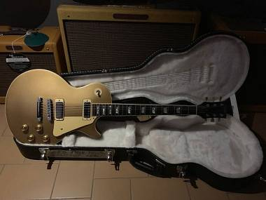Gibson Les Paul Deluxe Gold Top anno 1980 Refin Body