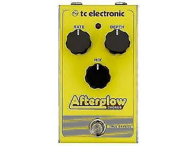 TC Electronic AFTERGLOW chorus true bypass