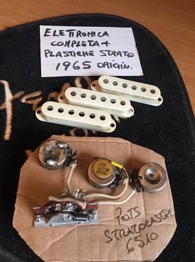 Fender stratocaster original pots 1965 NO REISSUE