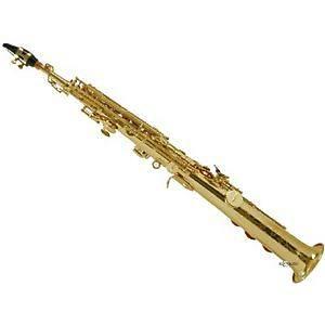 MILLER - MSS-800 sassofono- Sax Soprano in Sib doppio chiver
