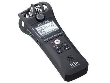 Zoom H1N microfono REGISTRATORE PALMARE STEREO DIGITALE 2 tracce