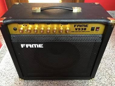 Amplificatore valvolare per chitarra Fame VS30 + Pedale Fame FS201