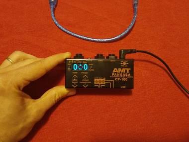AMT Electronics Pangaea cp 100 ir loader simulazione cassa
