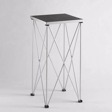 AMABILIA ST130 46x46 h40cm Tavolino richiudibile ideale per mixer/casse
