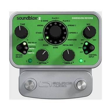 Sourceaudio SOUNDBLOX - Pedale per chitarra [SA225] DIMENSION REVERB