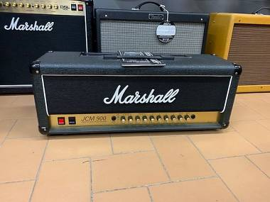 Marshall JCM 900 Hi Gain Dual Reverb Model 4100 PARI AL NUOVO + Cover originale