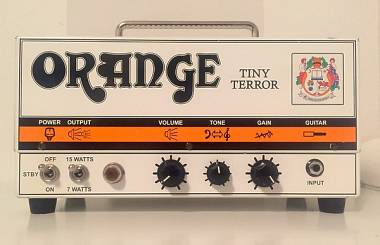Orange tiny terror scambio con Jazzmaster baritone baritona