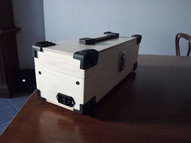 Eurorack case per moduli 3 u powered portable