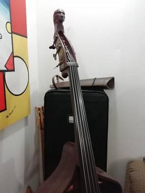 Contrabbasso elettrico 5 corde anno 1992 vendo o cambio con Fender Jazz bass USA