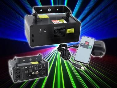 LASER FX-LASER L400RGB - 400 mW MULTICOLOR - DMX/TELECOMANDO