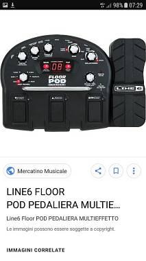 Line 6 Floor pod