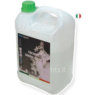 Liquido della neve - Snow Fluid 5Lt Pronto all'uso