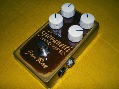 Giovanetti Hand Wired Vemuram Jan Ray clone