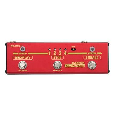 Valeton DAPPER LOOPER MINI -USB-Registrazione 240 Minuti