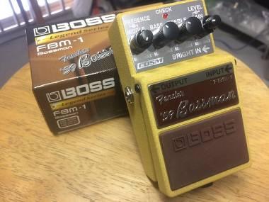 Boss FBM-1 Fender '59 Bassman Legend simulatore di ampli valvolare overdrive