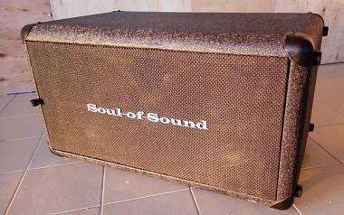 "CASSA PER BASSO SOUL OF SOUND 2X10"" 1000w  SoS 210B"