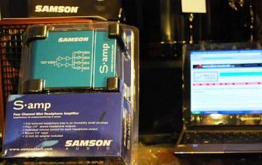 Samson S-AMP AMPLIFICATORE PER CUFFIA 4 CANALI SAMP. Spedito Gratis