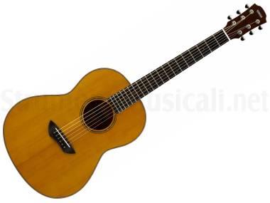 Yamaha Csf3m Vintage Natural - Chitarra Acustica Elettrificata A Scala Corta Naturale