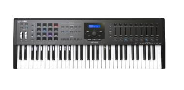 ARTURIA KEYLAB61-MKII BLACK EDITION CONTROLLER MIDI USB NERO TASTIERA 69 TASTI NERA