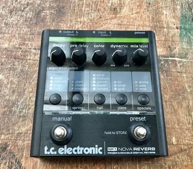 TC Electronic Nova Reverb NR1 come nuovo!